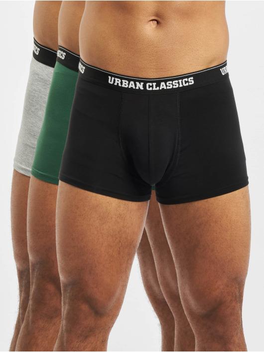 Urban Classics Boxerky 3-Pack šedá