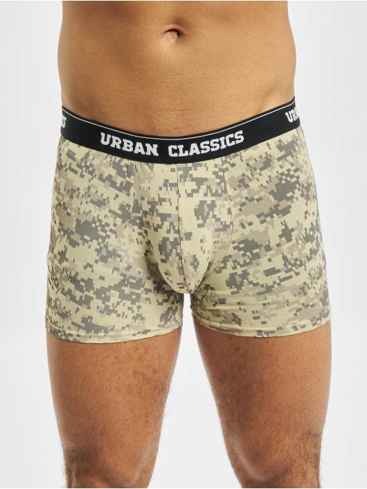 Urban Classics Boxerky 3-Pack kamufláž