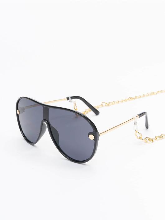 Urban Classics Brýle Sunglasses Naxos With Chain čern