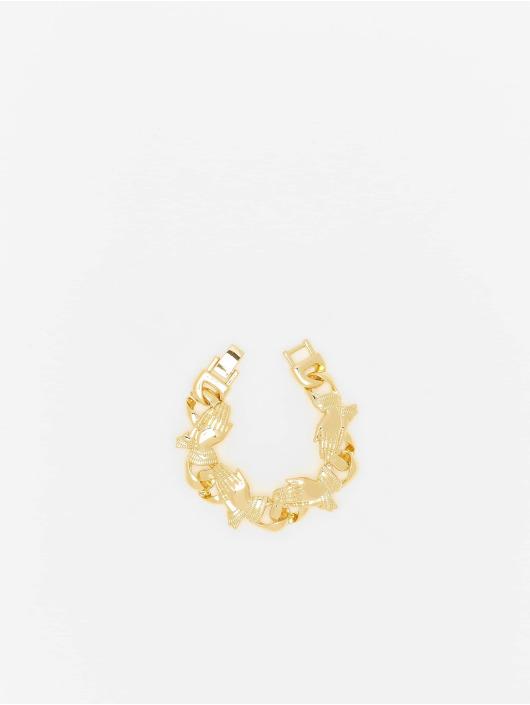 Urban Classics Bracelet Pray Hands gold