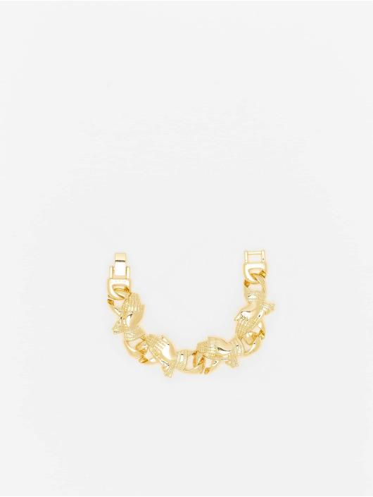 Urban Classics Bracelet Pray Hands gold colored
