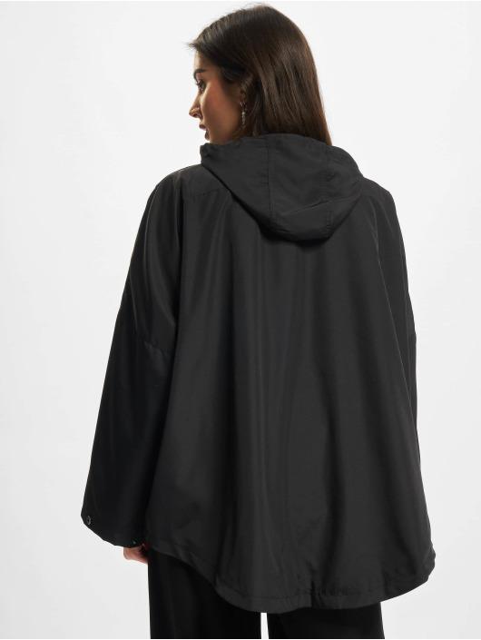 Urban Classics Bundy na přechodné roční období Ladies Recycled Packable čern