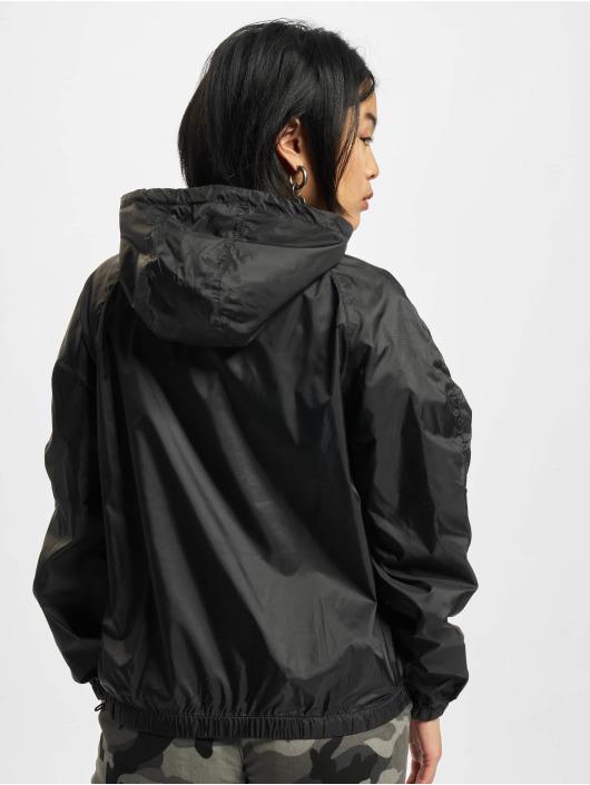 Urban Classics Bundy na přechodné roční období Ladies Transparent čern