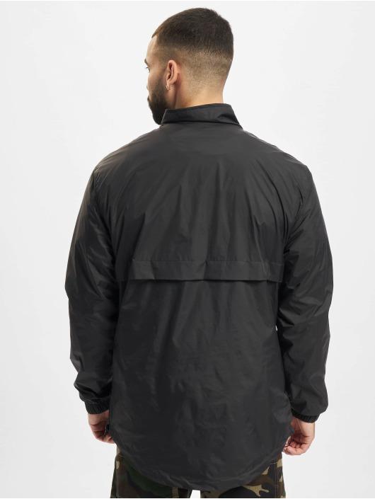 Urban Classics Bundy na přechodné roční období Stand Up Collar Pull Over čern