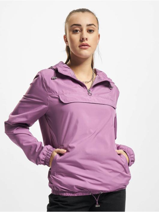 Urban Classics Bundy na přechodné roční období Ladies Basic fialový