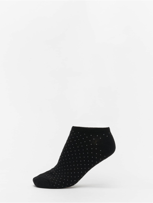 Urban Classics Calcetines No Show Socks Dots 5-Pack blanco