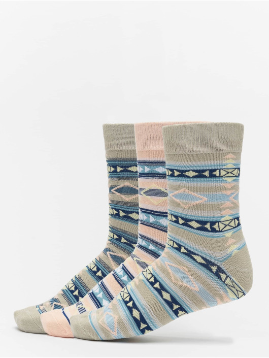 Urban Classics Calcetines Inka Socks 3-Pack colorido