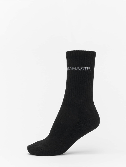 Urban Classics Calcetines Wording Socks 3-Pack negro
