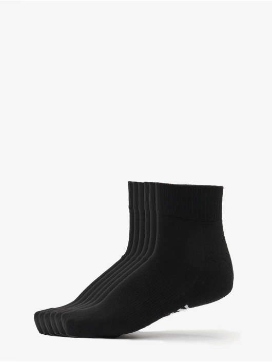 Urban Classics Calcetines High Sneaker Socks 6-Pack negro