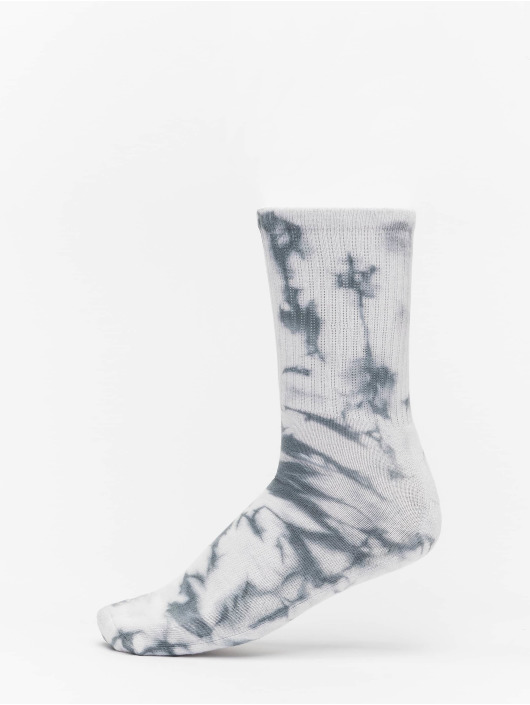 Urban Classics Calzino High Socks Tie Dye 2-Pack nero