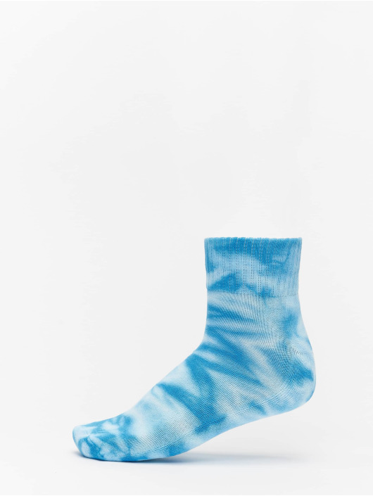 Urban Classics Calzino Tie Dye Socks Short 2-Pack verde