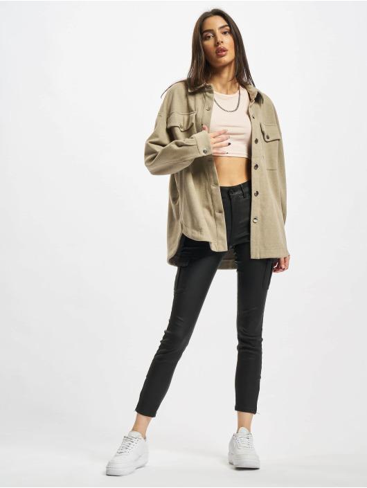 Urban Classics Camicia Ladies Classic beige