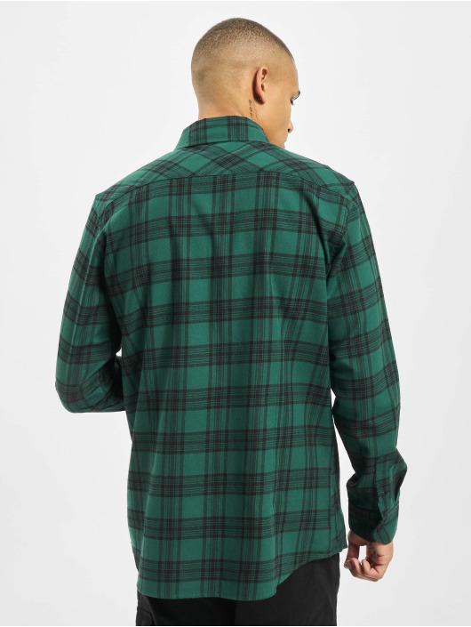 Urban Classics Camicia Checked 7 Flanell verde