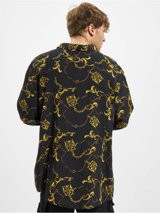Urban Classics Camisa Viscose negro