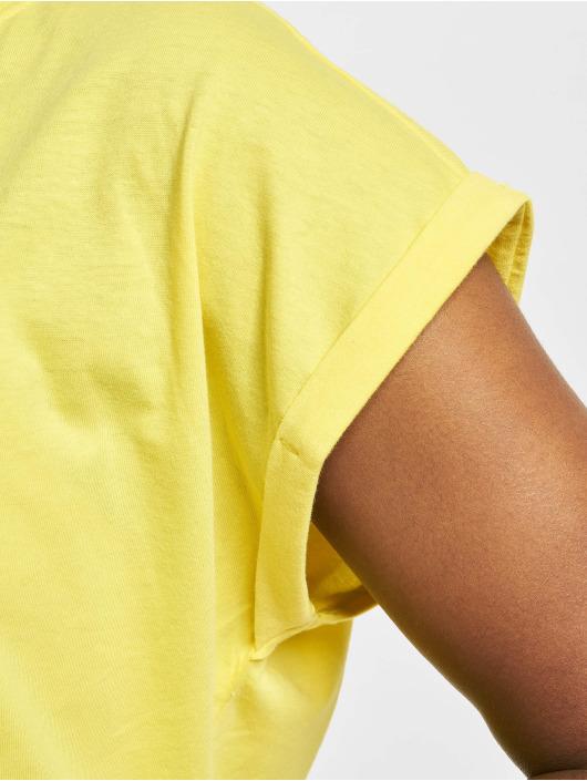 Urban Classics Camiseta Extended Shoulder amarillo
