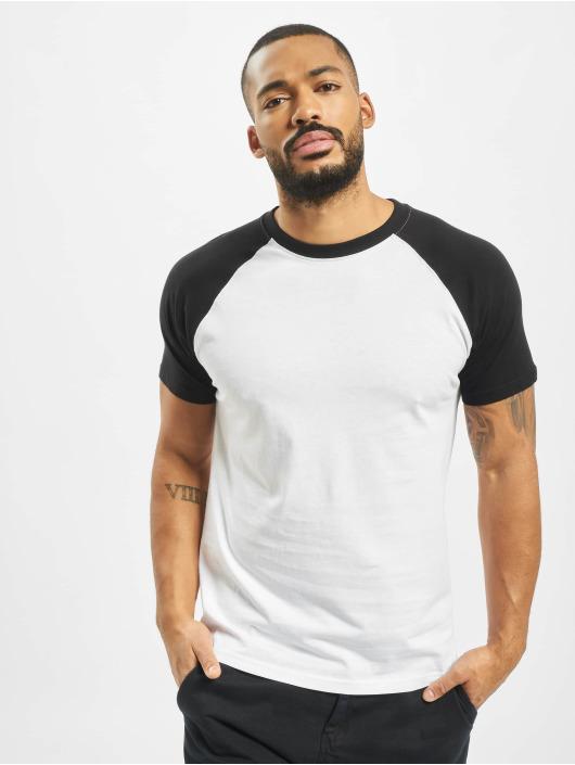 Urban Classics Ropa superiór   Camiseta Raglan Contrast en blanco 125759 84ac9e9cf6945
