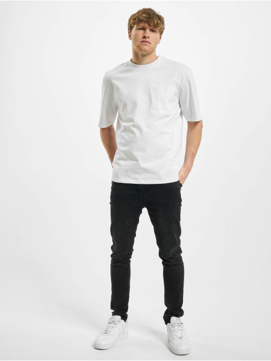 Urban Classics Camiseta Heavy Boxy Pocket Tee blanco
