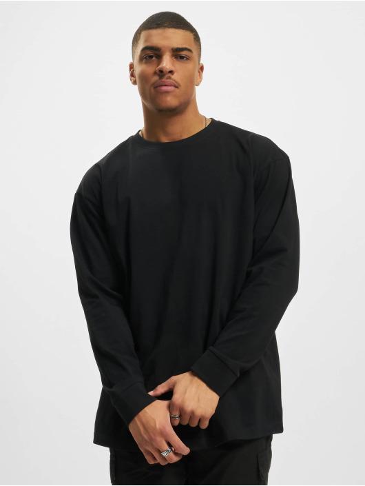 Urban Classics Camiseta de manga larga Boxy Heavy negro