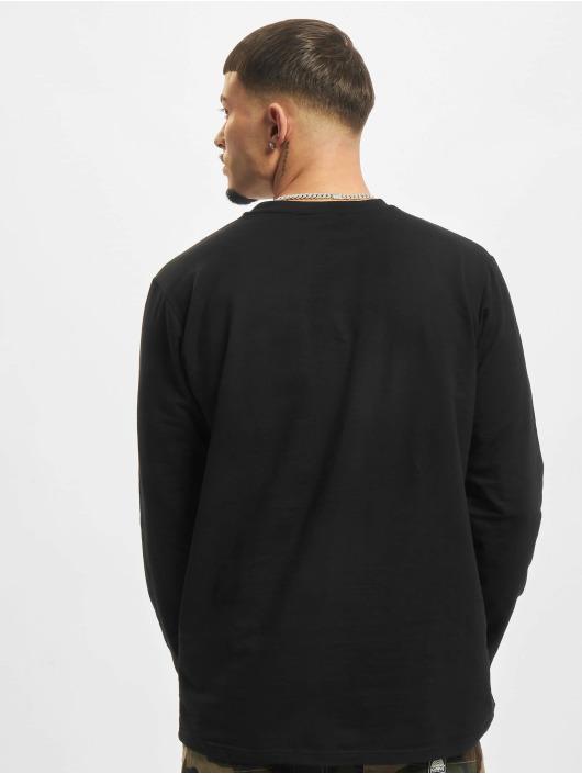 Urban Classics Camiseta de manga larga Stretch Terry negro