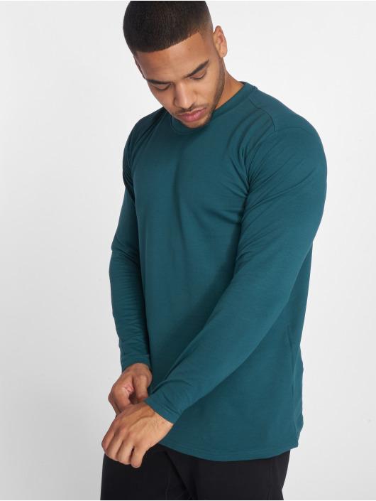 Urban Classics Camiseta de manga larga Stretch Terry verde