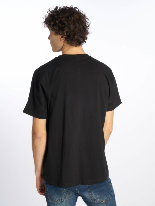 Urban Classics Camiseta Oversize Cut On Sleeve negro