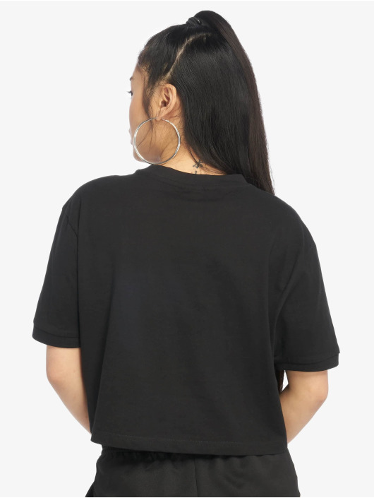 Urban Classics Camiseta Multicolor Side Taped negro