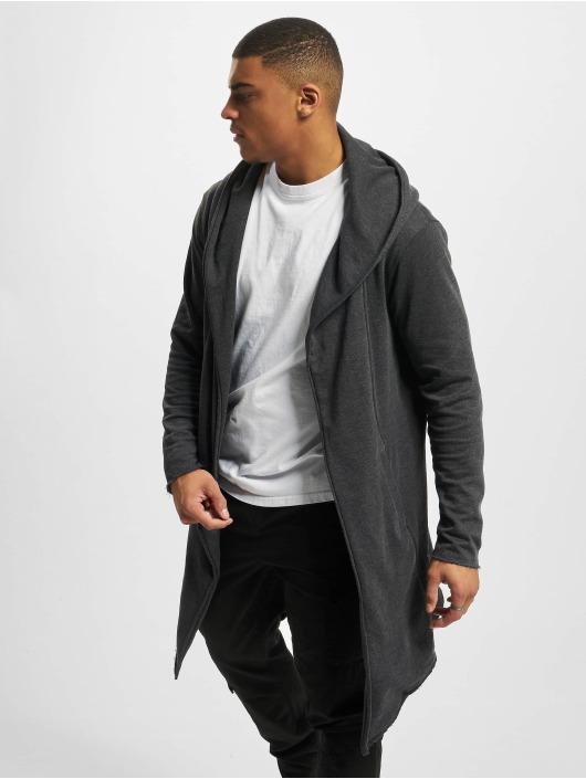 Long Homme Gris 294058 Hooded Classics Urban Cardigan EID9W2YH