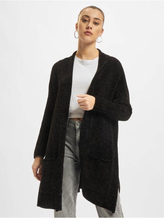Urban Classics Cardigan Oversize Chenille noir