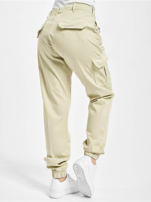 Urban Classics Cargo pants High Waist beige