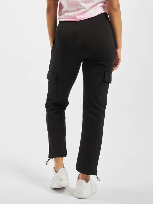 Urban Classics Cargo pants Cargo Terry black