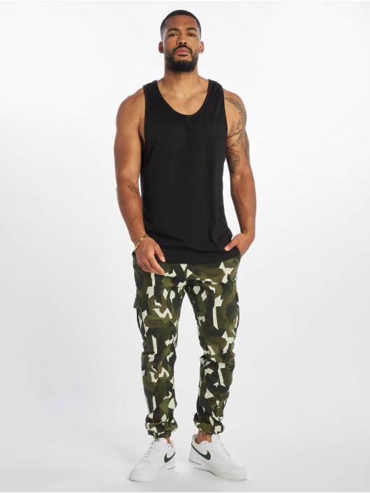 Urban Classics Cargo pants Geometric Stretch Twill camouflage