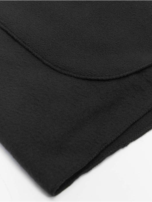 Urban Classics Chal / pañuelo Fleece negro