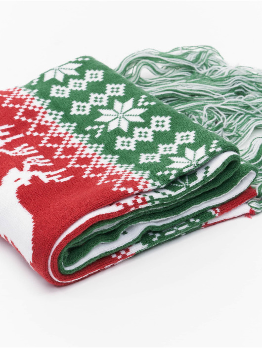 Urban Classics Chal / pañuelo Christmas verde
