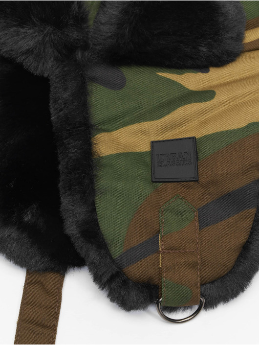 Urban Classics Chapeau Printed Trapper camouflage