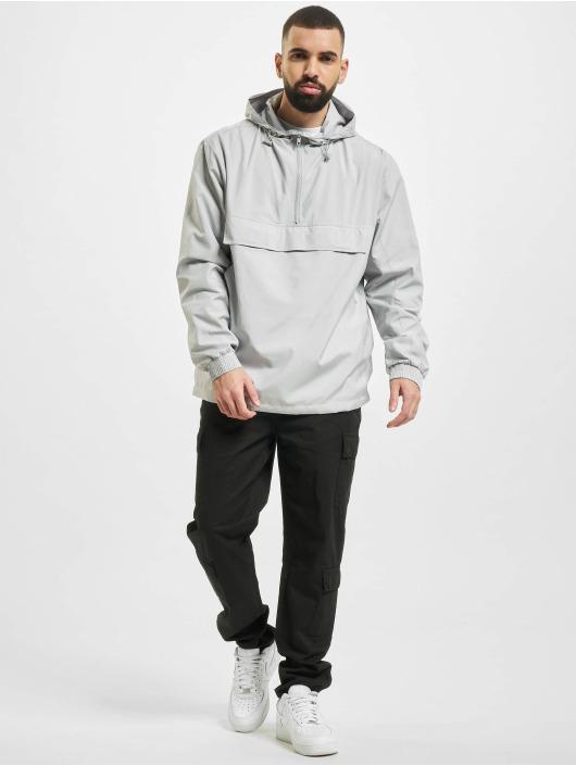 Urban Classics Chaqueta de entretiempo Basic Pull Over gris