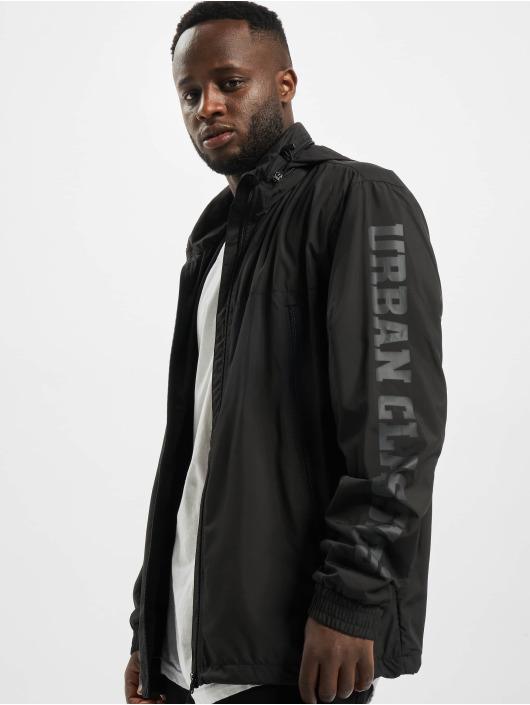 Urban Classics Chaqueta de entretiempo Tactical negro