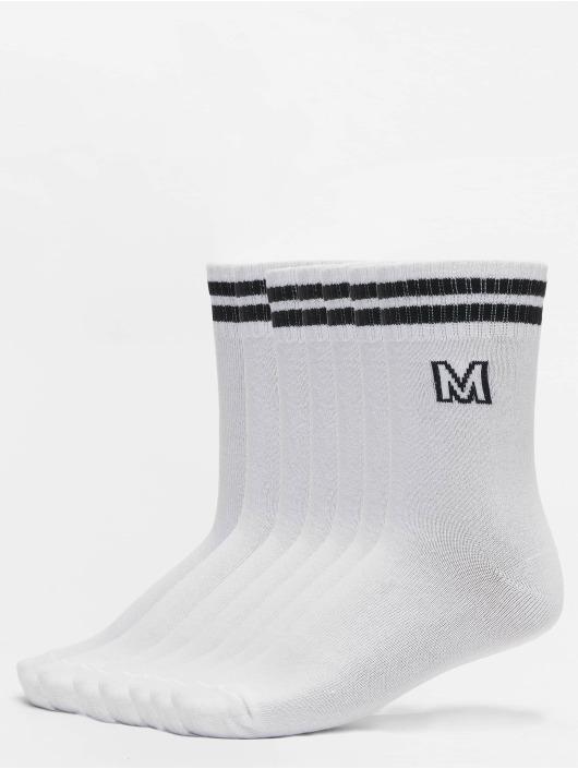 Urban Classics Chaussettes College Letter Socks 7-Pack blanc