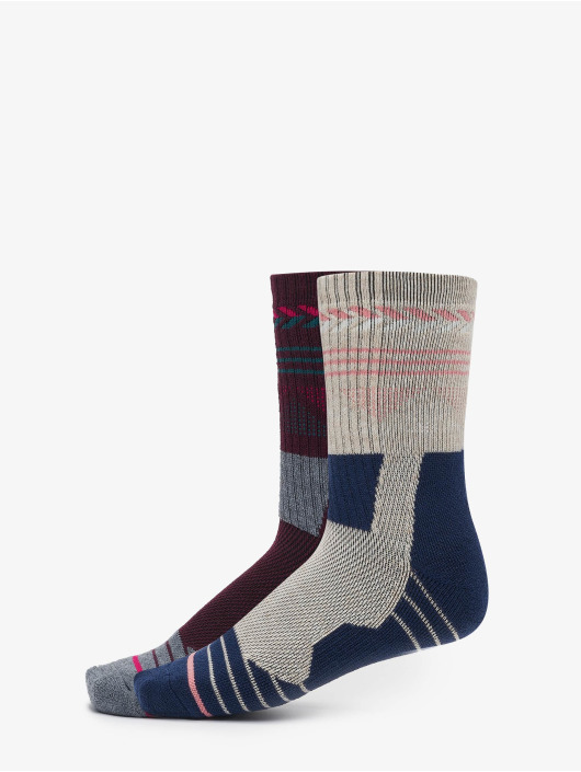 Urban Classics Chaussettes Hiking Performance 2-Pack bleu