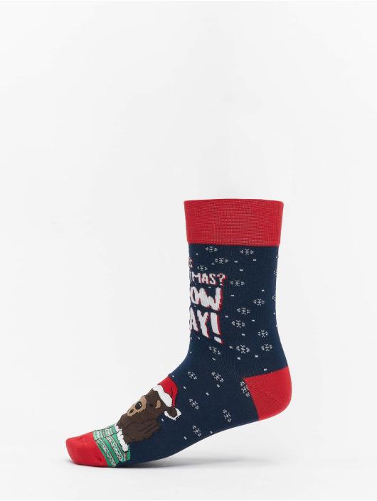 Urban Classics Chaussettes Christmas multicolore