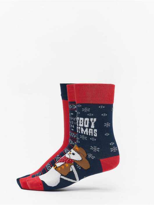 Urban Classics Chaussettes Christmas multicolore