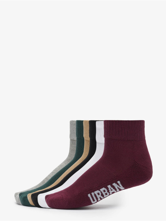Urban Classics Chaussettes High Sneaker 6-Pack multicolore