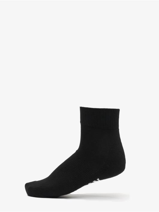 Urban Classics Chaussettes High Sneaker Socks 6-Pack noir