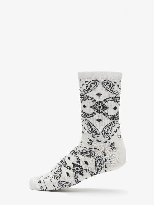 Urban Classics Chaussettes Bandana Pattern Socks 2-Pack noir