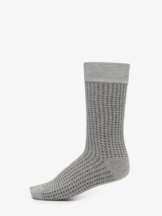 Urban Classics Chaussettes Stripes And Dots Socks 5-Pack noir