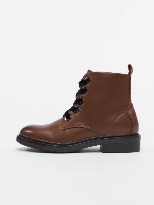 Urban Classics Chaussures montantes Velvet Lace brun