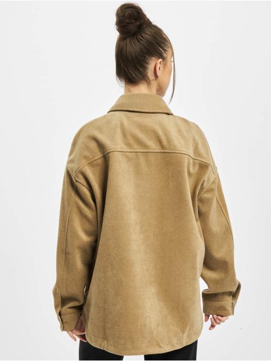 Urban Classics Chemise Ladies Classic brun