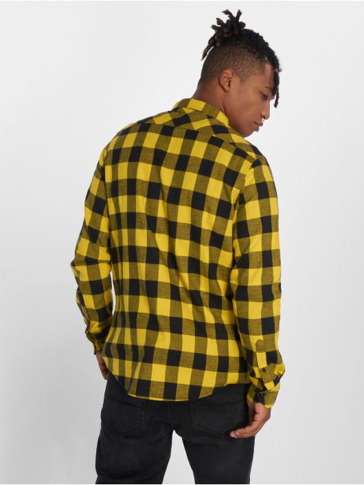 Urban Classics Chemise Checked Flanell noir