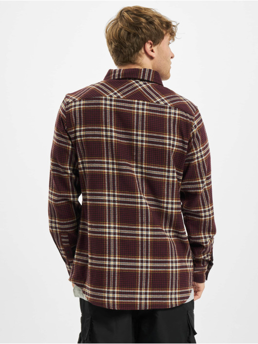 Urban Classics Chemise Checked Campus rouge