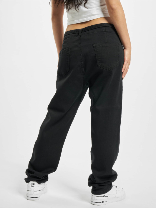 Urban Classics Chino High Waist Knitted black
