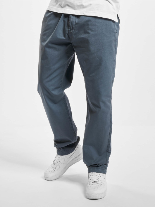 Urban Classics Chino Straight Leg blau